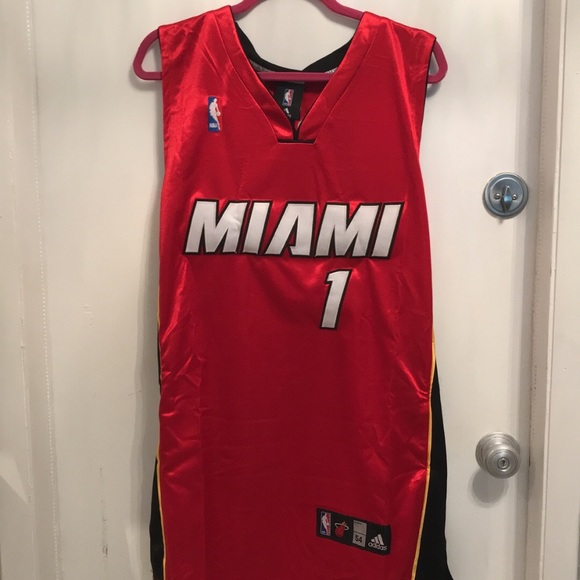 wholesale dealer c12c5 564b7 Adidas Miami Heat Jersey NWT